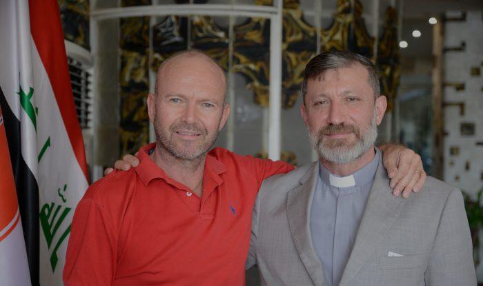 Fr. Faiz and Fr. Chris in Erbil, 2015
