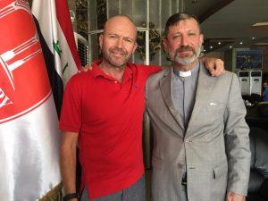[Image description: Father Chris and Father Faiz Jerjees