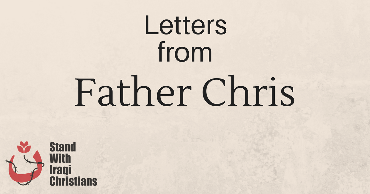 Letters from Father Chris